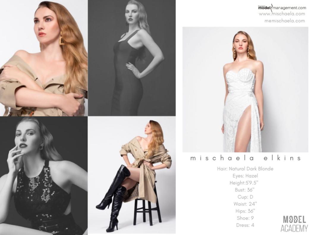 Mischaela Elkins Comp Card