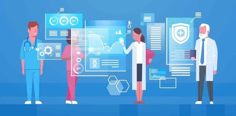 Cartoon doctors and digital applications