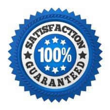 service satisfaction guarantee seal