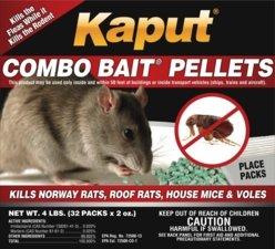 Kaput Rat & Mouse Combo Bait