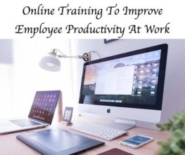 Can online training improve employee productivity?