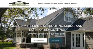 Web Design Companies in Michigan Grennan Construction