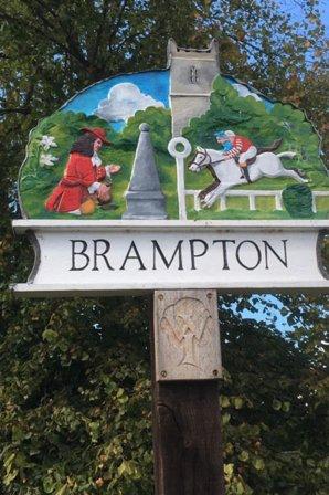 Brampton Town Sign