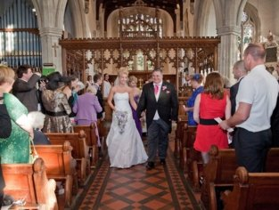 Wedding Aisle Photo