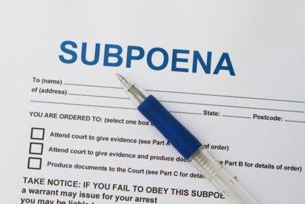 minnesota subpoena
