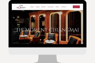 landing page website design chiang mai