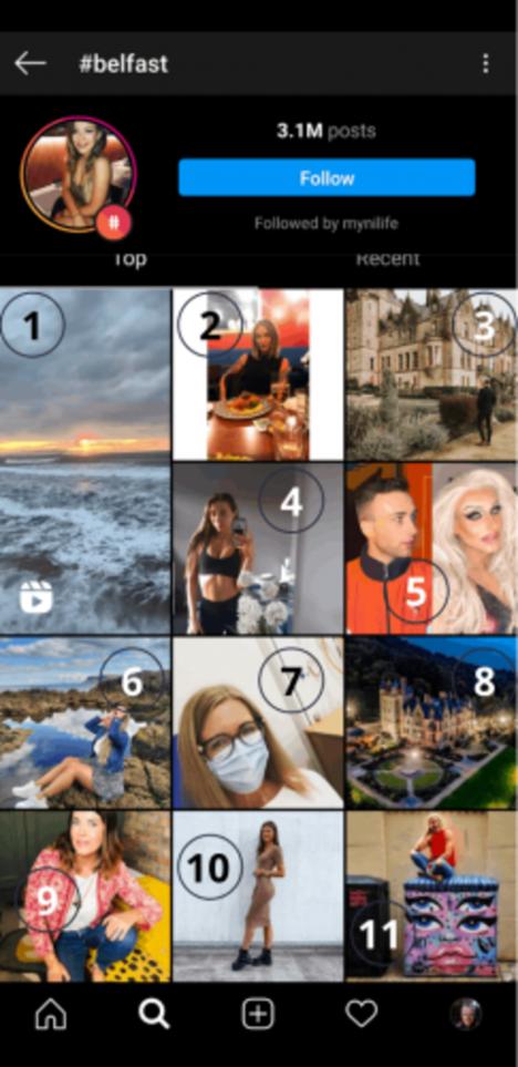 #belfast top 11 instagram posts