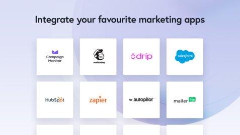 closer marketing apps integration