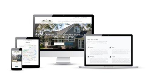 Website Design completed for Grennan Construction.