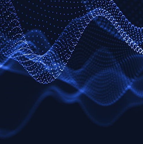 abstract waves, digital
