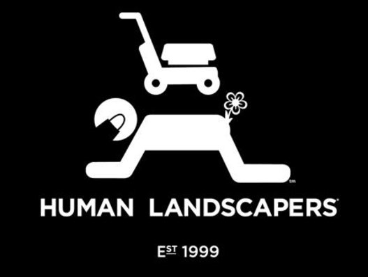 human landscapers covid logo