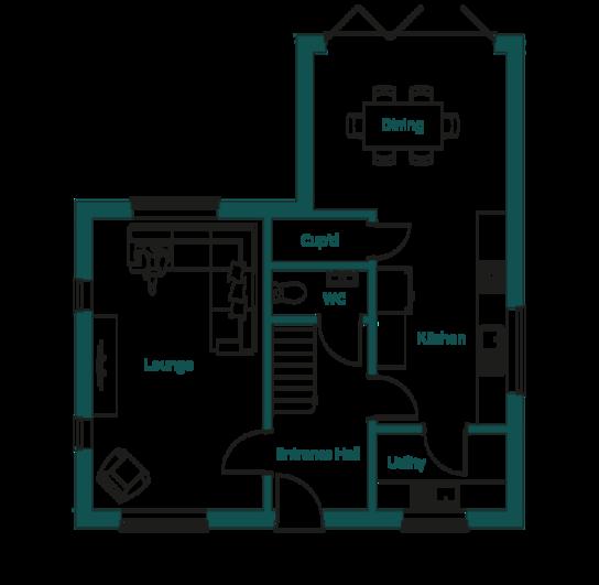 Ingoldisthorpe Wealden Ground Floor Plans