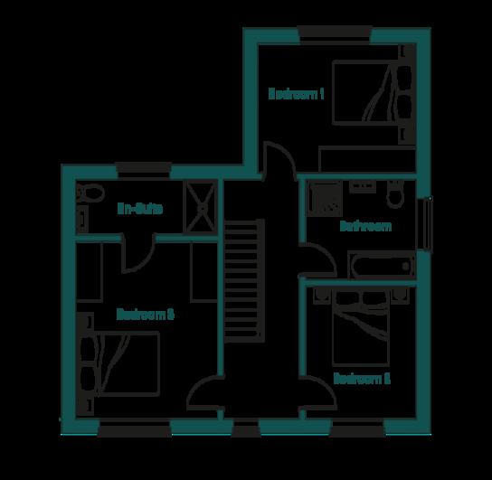 Ingoldisthorpe Wealden First Floor Plans