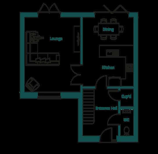 Ingoldisthorpe Poppy Ground Floor Plans