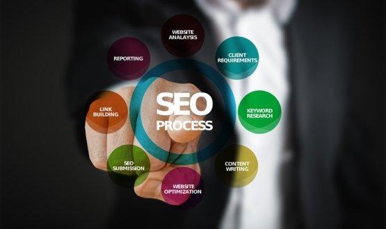 Search engine optimization promo image