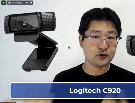 recomendação de câmera para vídeo conferências