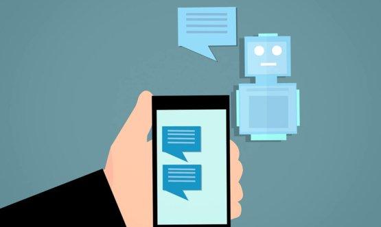 Chatbot development promo image