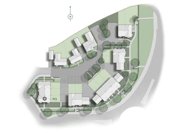 Brampton Park Kellaway Plots Location
