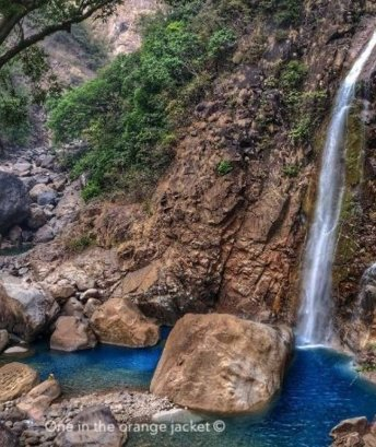 Rainbow waterfall-Best meghalaya group trips