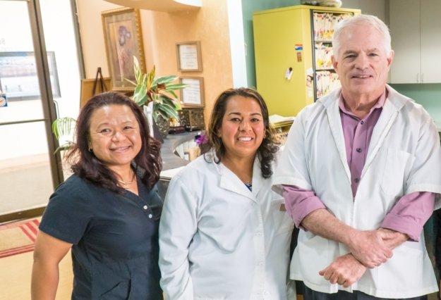 picture of the team at south coast dental center