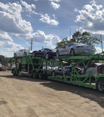 Open trailer car shipping coast-to-coast