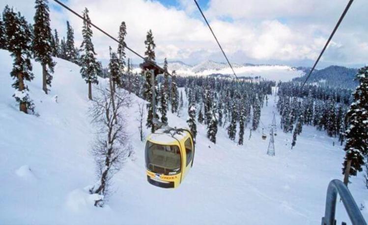 Gandola-Kashmir winter trip