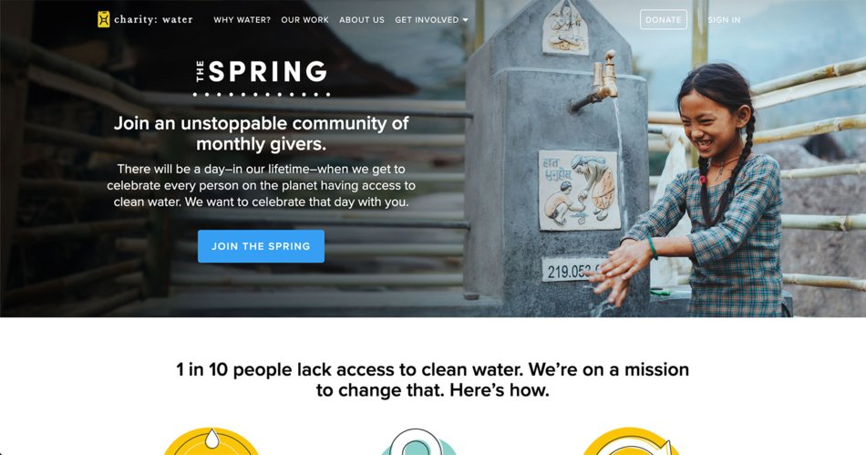 charity-water-website