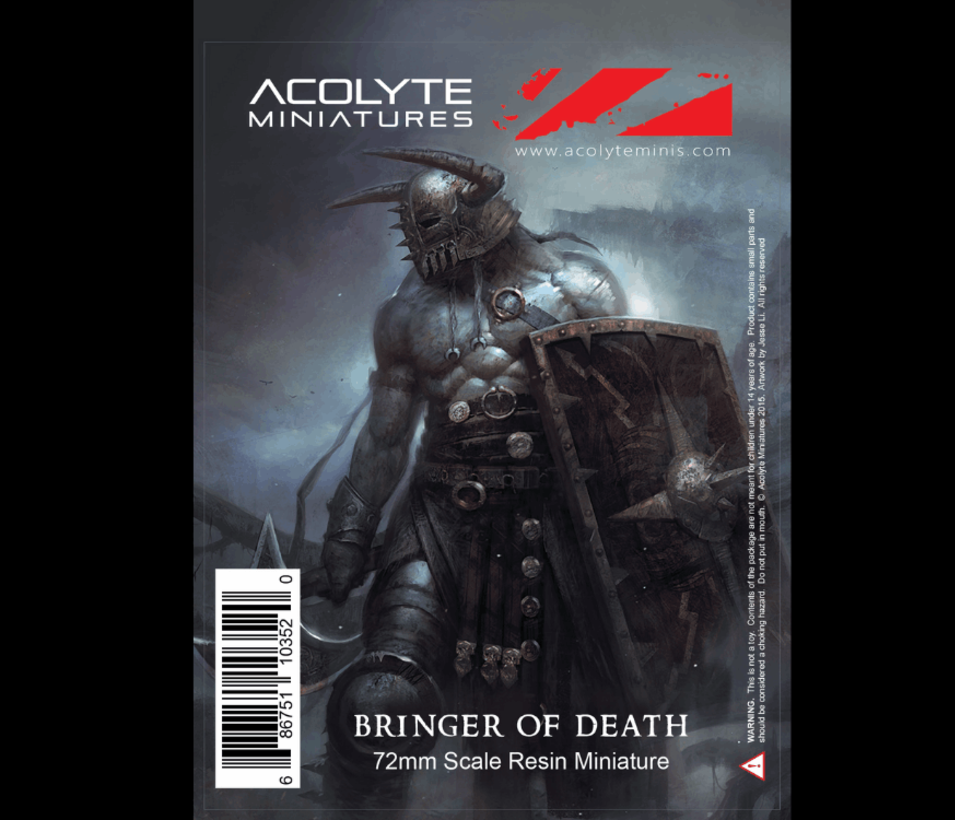 acolyte miniatures bringer of death packaging